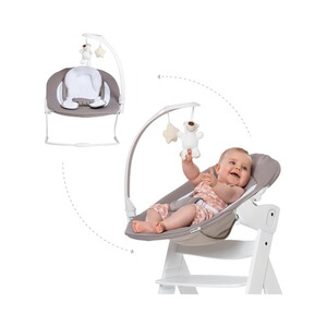 Hauck  Babywippe Alpha Bouncer 2in1 Deluxe  sand