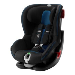Britax Römer PREMIUM King II LS Kindersitz  Cool Flow - blue