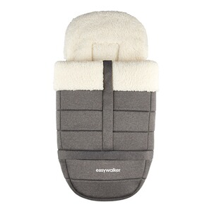 Easywalker  Ganzjahres-Fußsack Harvey² All-Terrain Peak  arctic grey