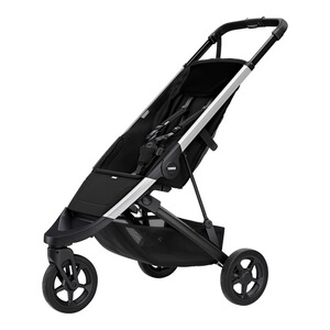 Thule  Spring Buggy mit Liegefunktion  aluminum