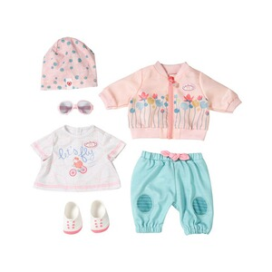 Zapf Creation BABY ANNABELL Puppen Outfit Active Fahrrad Deluxe Set