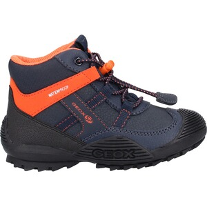 GEOX  Stiefelette  Navy/Orange