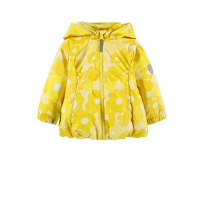 Ticket to Heaven  Jacke Althea m. abnehmbarer Kapuze  vibrant yellow