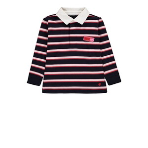 Marc O`Polo Junior  Rugby-Shirt Girlie  y/d stripe