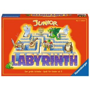 RAVENSBURGER  Junior Labyrinth, Such-Schiebespiel