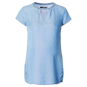SUPERMOM  Bluse Denim  Light Blue