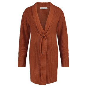 Queen Mum  Strickjacke  Copper Brique