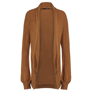 SUPERMOM  Strickjacke Zipper  Camel