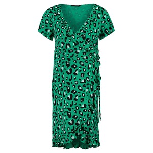 Supermom  Kleid Dress Wrap  Emerald AOP