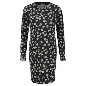 SupermomKleid Poppy  Black AOP 1