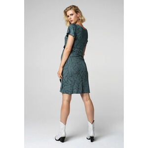 Supermom  Still-Kleid Lines Green  Balsam Green