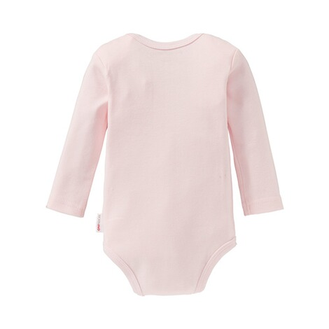 BorninoBASICS2er-Pack Bodys langarm  rosa 3