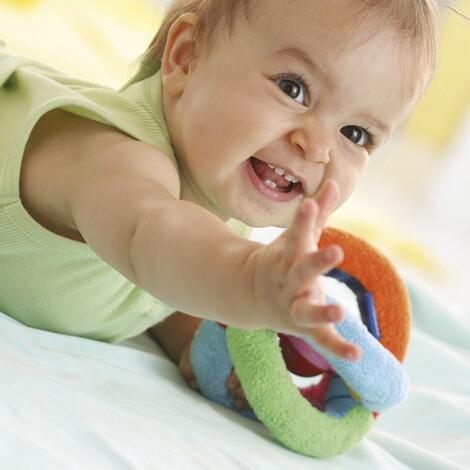 Klingender Beißring | Spielzeug | Baby und Kleinkind