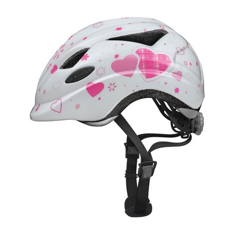 ABUSFahrradhelm Anuky Gr. S  white Heart 1