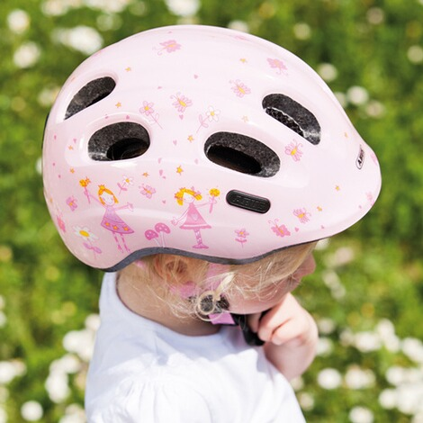 ABUSFahrradhelm Smiley 2.0  rose Princess 5