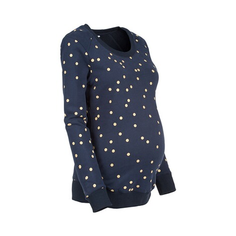 2heartsWE LOVE BASICSUmstands-Pullover Golden Dots 2
