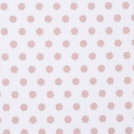 Lässig3er-Pack Mullwindel Swaddle & Burp Blanket L 85x85 cm  Little Chums Stars light pink 4