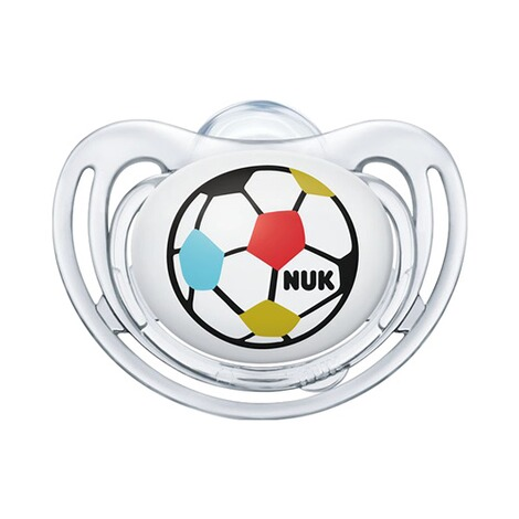 NUK2er-Pack WM Schnuller Freestyle, Fußball-Edition 18-36M  Ball 2