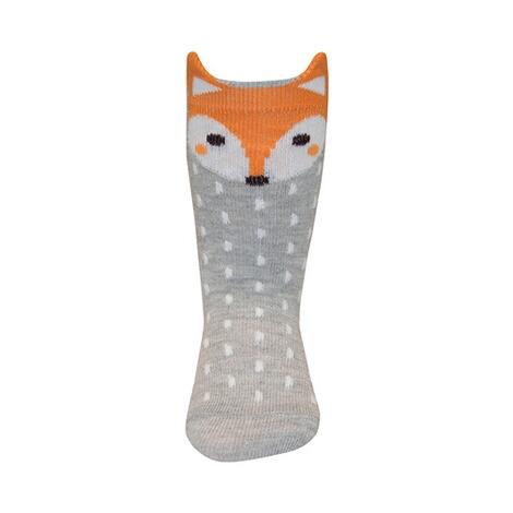 Baby Kniestrümpfe Fuchs grau