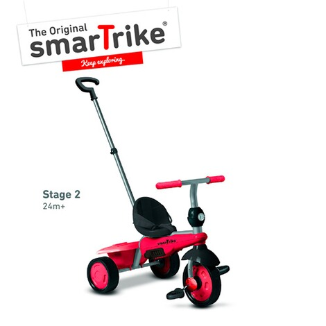 smarTrikeDreirad Breeze 3 in 1  rot 4
