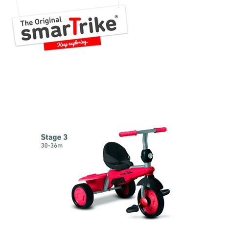 smarTrikeDreirad Breeze 3 in 1  rot 5
