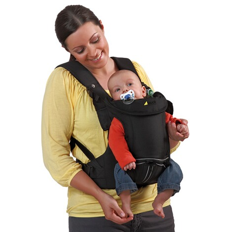HauckBabytrage 3-Way-Carrier, 3 Tragepositionen  black 10