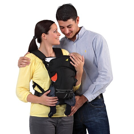 HauckBabytrage 3-Way-Carrier, 3 Tragepositionen  black 11