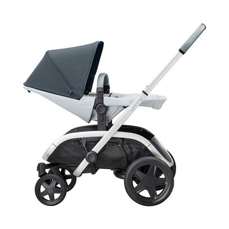 QuinnyHubb Kinderwagen  graphite on Grey 2