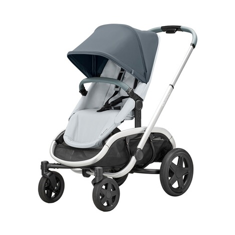 QuinnyHubb Kinderwagen  graphite on Grey 1
