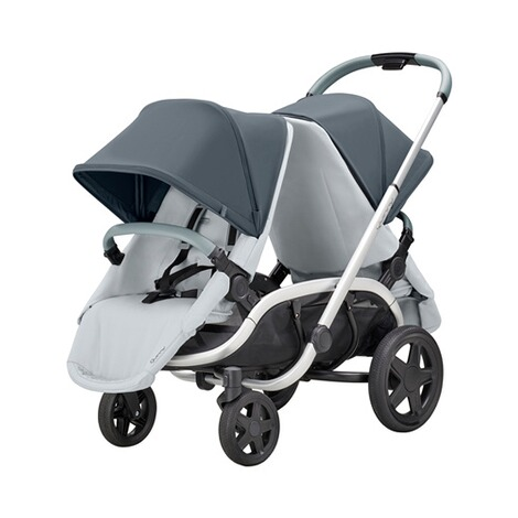 QuinnyHubb Kinderwagen  graphite on Grey 6