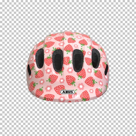 ABUSFahrradhelm Smiley 2.1  rose strawberry 2