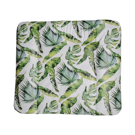 Limited Edition Gr/ün Ab 0 Monaten 200990001CS Rotho Babydesign Keil-Wickelauflage Tropical Leaf 50 x 70 x 10 cm
