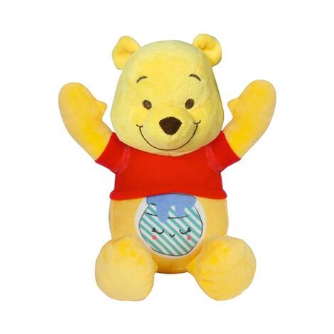 Winnie Pooh Plüschfigur Stofftier Plüschtier Kuschelfigur Nachtlicht Sound