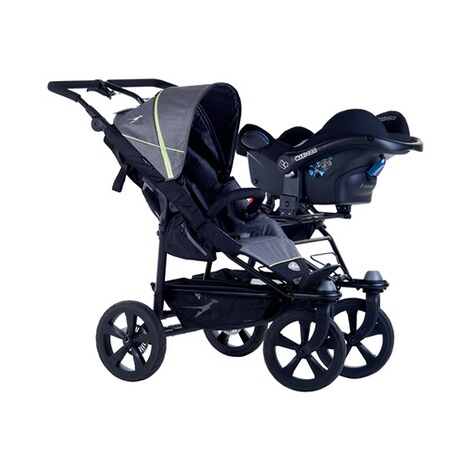 TFKGrund-Adapter Twin Trail2 für 1 Babyschale 2