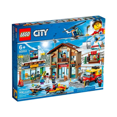 LEGO®CITY60203 Ski Resort 1