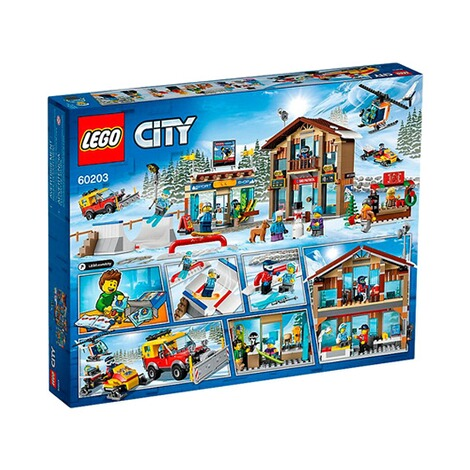 LEGO®CITY60203 Ski Resort 3