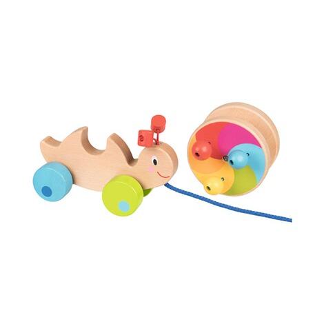 Goki Nachziehspielzeug Schnecke aus Holz online kaufen