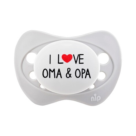 nipSchnuller Special Edition 5-18M  I love Oma & Opa 1