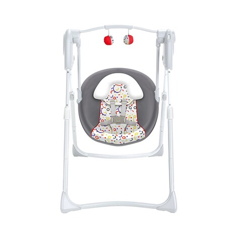GracoBabyschaukel Slim Spaces 2in1  Confetti 1