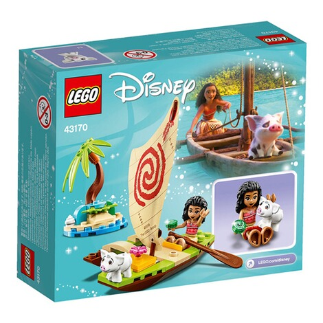 LEGO®DISNEY PRINCESS43170 Vaianas Boot 4