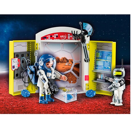 Playmobil®SPACE70307 Spielbox In der Raumstation 3
