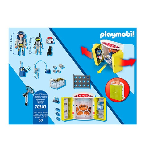 Playmobil®SPACE70307 Spielbox In der Raumstation 4