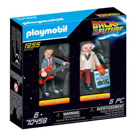 Playmobil®Back to the Future70459 Back to the Future Marty McFly und Dr. Emmett Brown 1