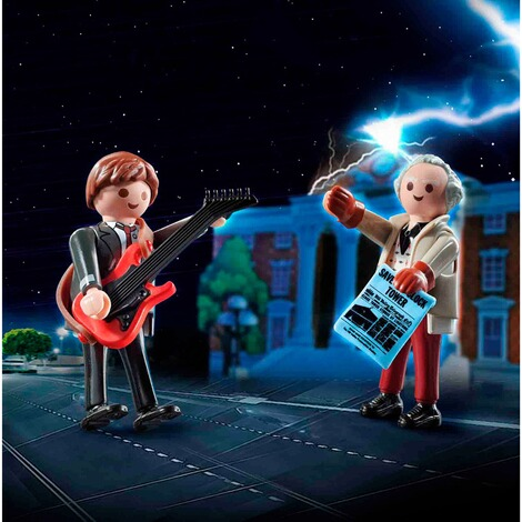 Playmobil®Back to the Future70459 Back to the Future Marty McFly und Dr. Emmett Brown 3