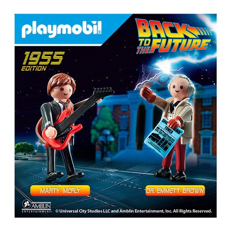 Playmobil®Back to the Future70459 Back to the Future Marty McFly und Dr. Emmett Brown 4