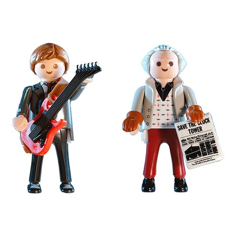Playmobil®Back to the Future70459 Back to the Future Marty McFly und Dr. Emmett Brown 2
