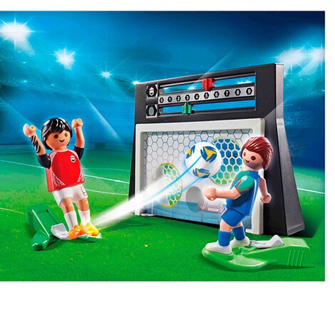 Playmobil®SPORTS & ACTION70245 Torwandschießen 3