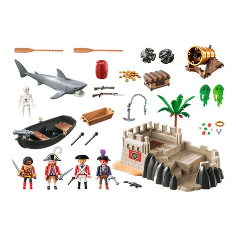 Playmobil®PIRATES70413 Rotrockbastion 2