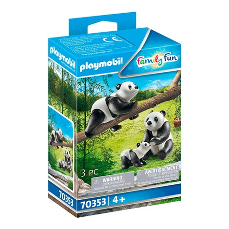 Playmobil®FAMILY FUN70353 2 Pandas mit Baby 1