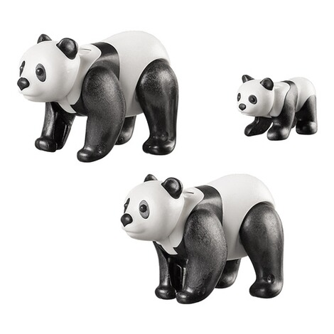 Playmobil®FAMILY FUN70353 2 Pandas mit Baby 2